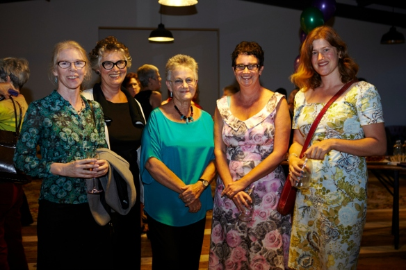 Anne Kennedy, Alexa Johnston, Carole Beu, Sue Orr, Sarah Laing