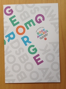 Prince George Book Wrapping_Front cover of card