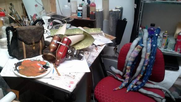 studio messy