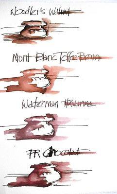 toffee brown