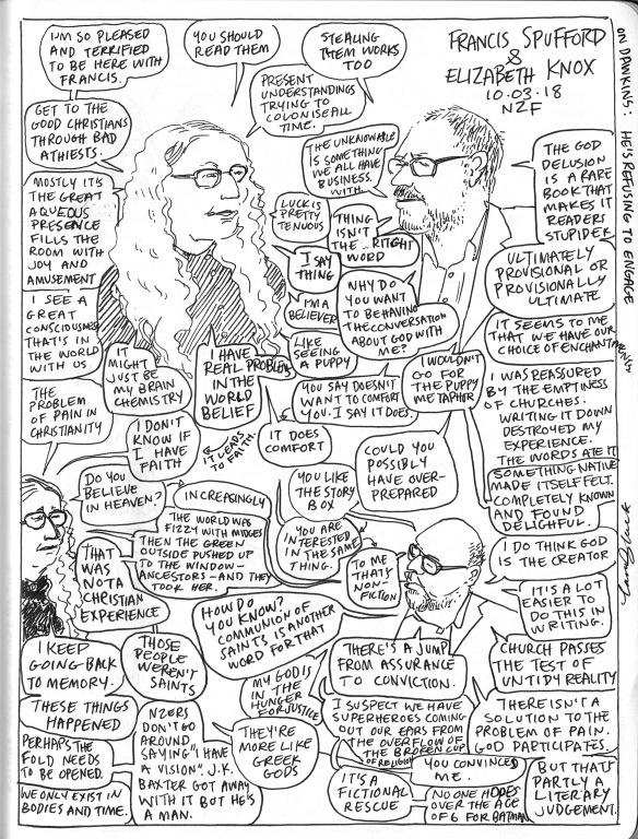 NWF18 Francis Spufford and Elizabeth Knox